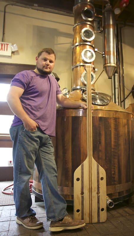 Tennessee Hills Distillery owner Stephen Callahan has opened his business after running into some trouble.