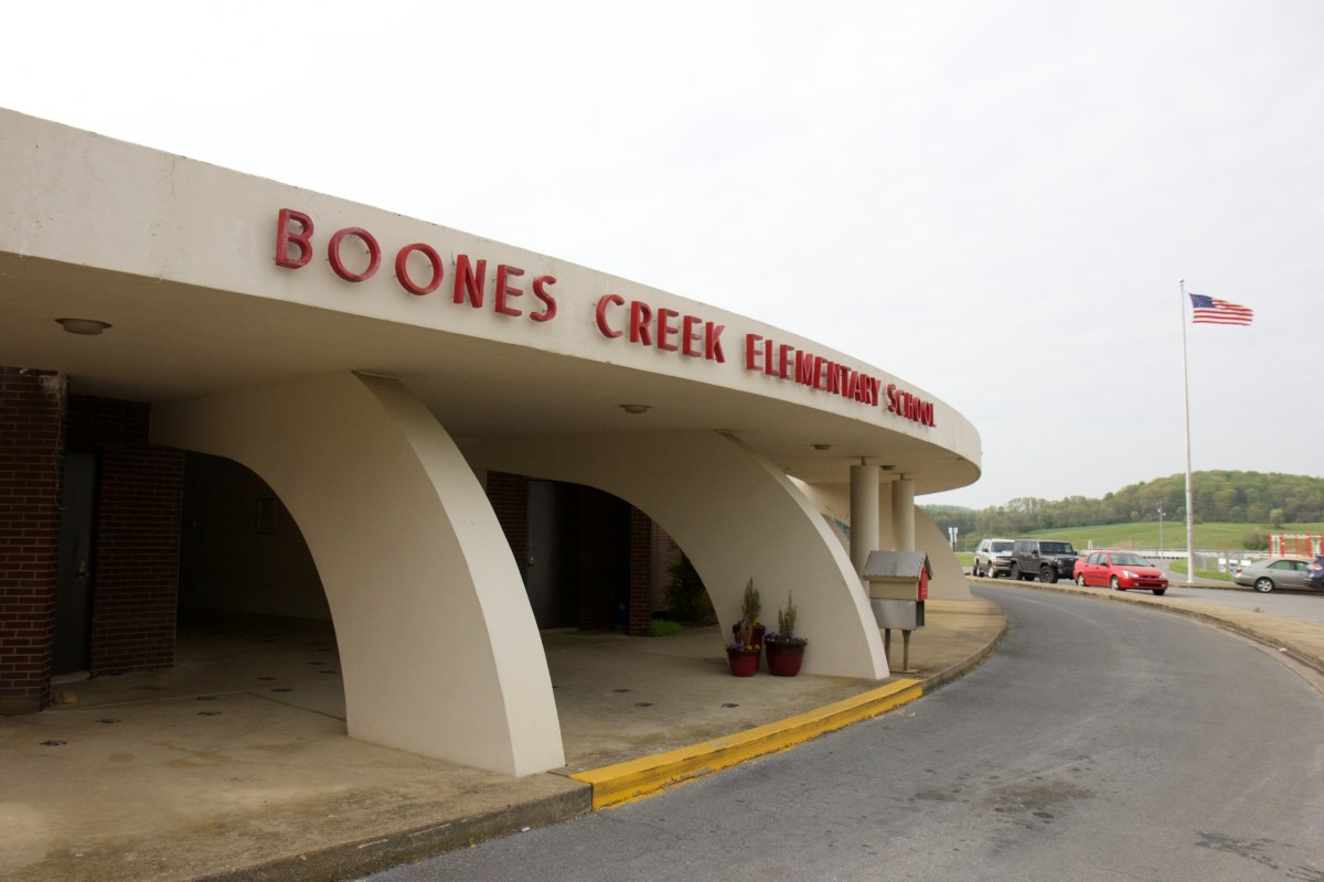 Boones Creek Elementary was built in 1971 when open-concept schools were thought to be a thing of the future.